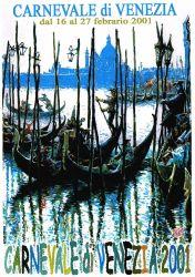 Affiche pour le Carnaval de Venise