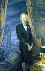 Portrait de la Baronne Margaret Thatcher