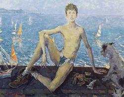 Portrait de Serguei Tchepik Jr (le fils de l'artiste)