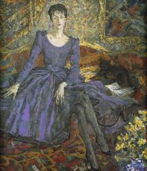 The Lady in Violet