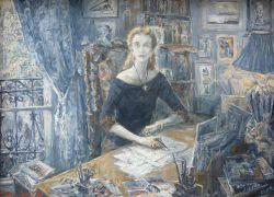 Marie-Aude Albert-Chepik at her Desk