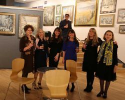 Vera Batchelor, Caroline Peal, Imogen Green, Iain Barratt, Sophie, Kate, Marie-Aude Chepik