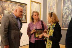 Mrs Chepik avec des amis russes